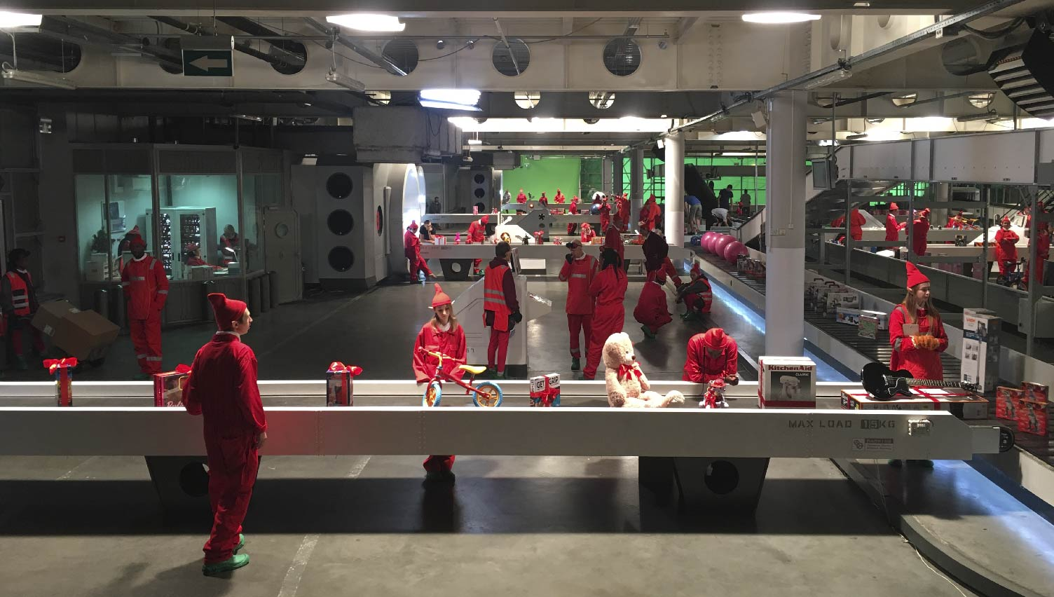 The Argos Christmas / Prosthetic